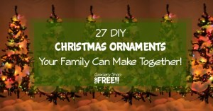 27 DIY Christmas Ornaments!