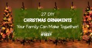 27 DIY Christmas Ornaments!