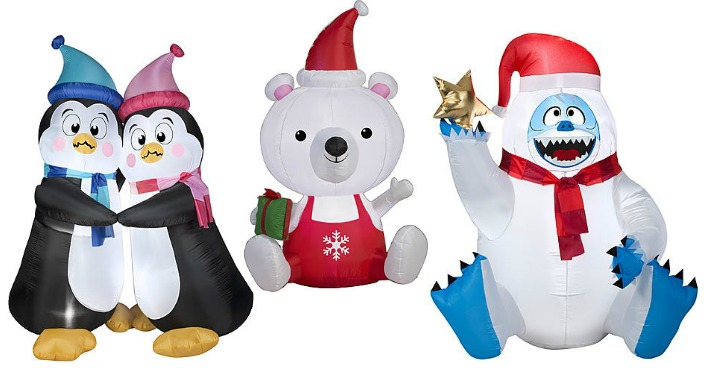 Up To 50% Off Christmas Inflatables!
