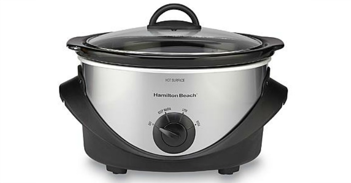 Hamilton Beach Oval Slow Cooker Just $9.99! Down From $33!