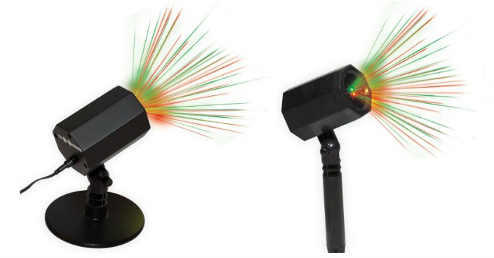 Holiday Time Christmas Outdoor Laser Light Just $18.88!