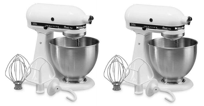 KitchenAid 4.5qt Stand Mixer Just $109.99! Down From $300!
