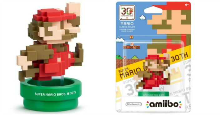 Mario 30th Anniversary Series amiibo Just $4.99! Down From $13!