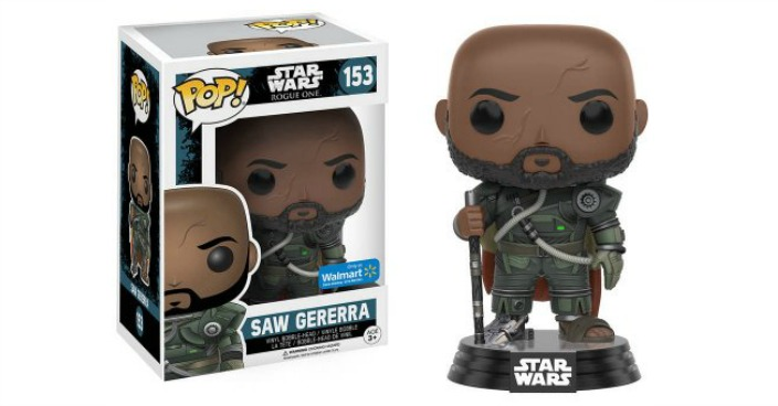 POP Star Wars: Rogue One: Saw Gerrera Just $4.17! Down From $9!