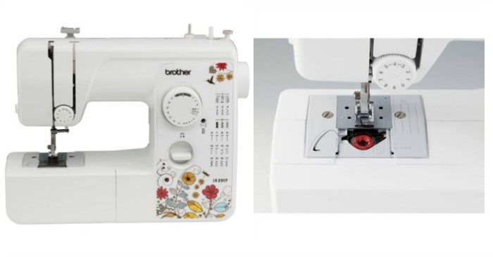 Refurbished Brother 17-Stitch Sewing Machine Just $29.97! Down From $65!