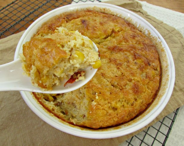 Chipotle Corn Souffle