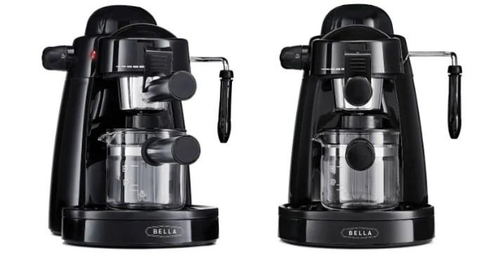 BELLA Personal Espresso Maker Just $27.81! Down From $85!
