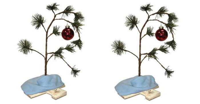 Charlie Brown's Christmas Tree Just $8.50! Down From $15!