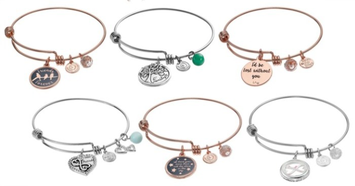 Charm Bangle Bracelets Only $11.89! Down From $50!