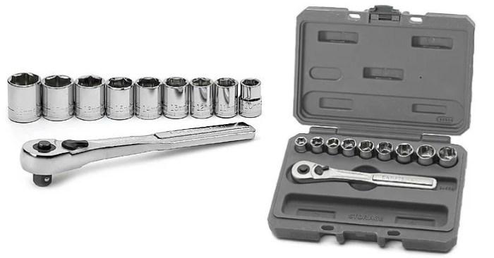 FREE Craftsman Metric Socket Wrench Set!