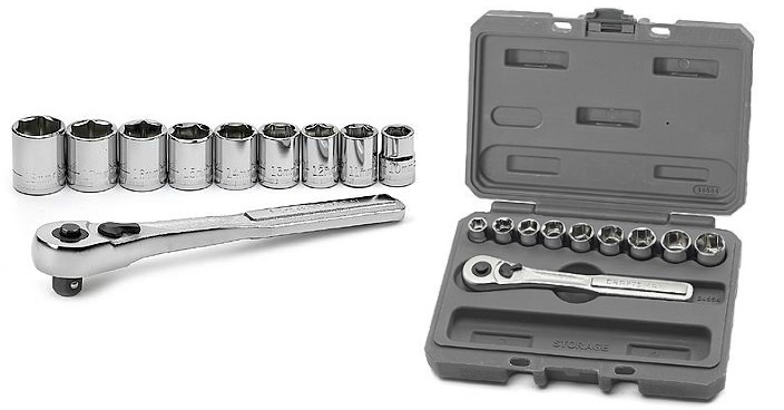 FREE Craftsman Metric Socket Wrench Set!