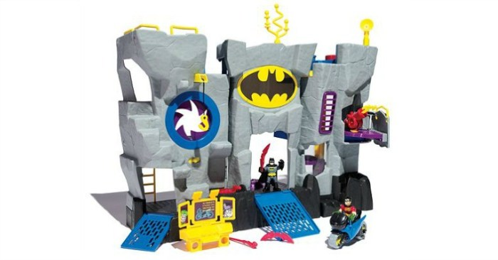 Fisher-Price Imaginext DC Super Friends Batcave Only $31.49! Down From $60!