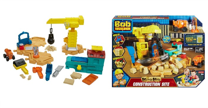 Fisher-Price Bob the Builder Mash & Mold Construction Site Just $8.97! Down From $30!