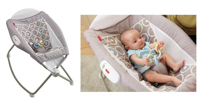 Fisher-Price Newborn Rock 'n Play Sleeper Just $36! Down From $60!