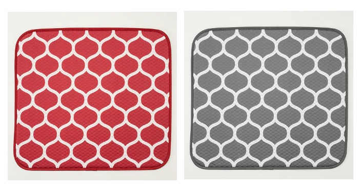 Food Network Dish Drying Mat Only $5.24! Down From $14!