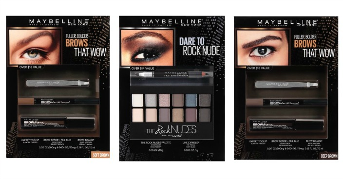 Maybelline New York Holiday Kits Just $5! Down From $10!