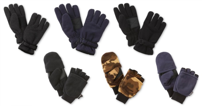 NordicTrack Men's Gloves & Mittens Only $5.95! Down From $20!