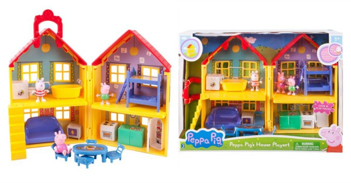 Peppa Pig Peppa's Deluxe House Play Set Just $25.53! Down From $40!