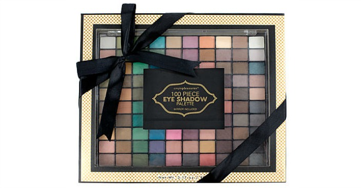 Tri-Coastal 100-Pc. EyeShadow Palette
