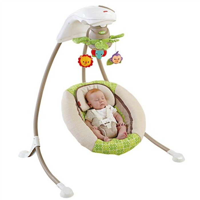 Fisher-Price Deluxe Cradle 'n Swing Just $85.49! Down From $150!