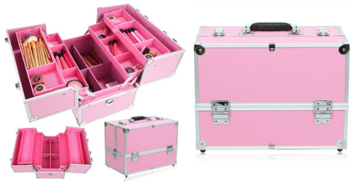 Homdox Adjustable Makeup Train Case Just $38.29! Down From $64!