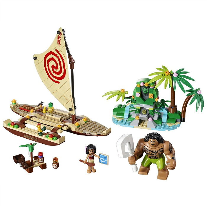 LEGO Disney Moana's Ocean Voyage Just $27.99! Down From $40!