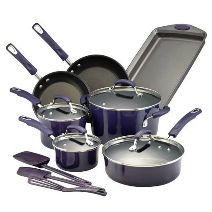 Rachael Ray Cookware Set Only $93.99! Down From $250!