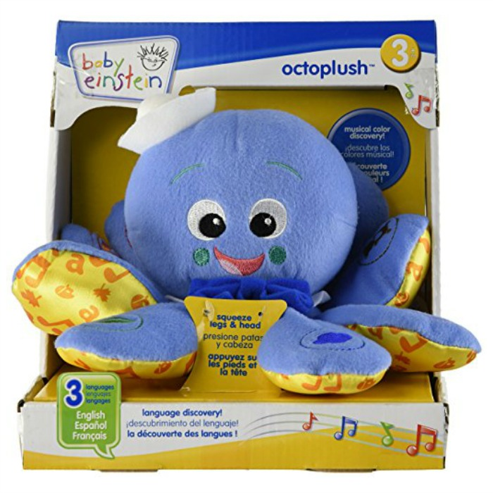 Baby Einstein Octoplush Just $9.88! Down From $20!