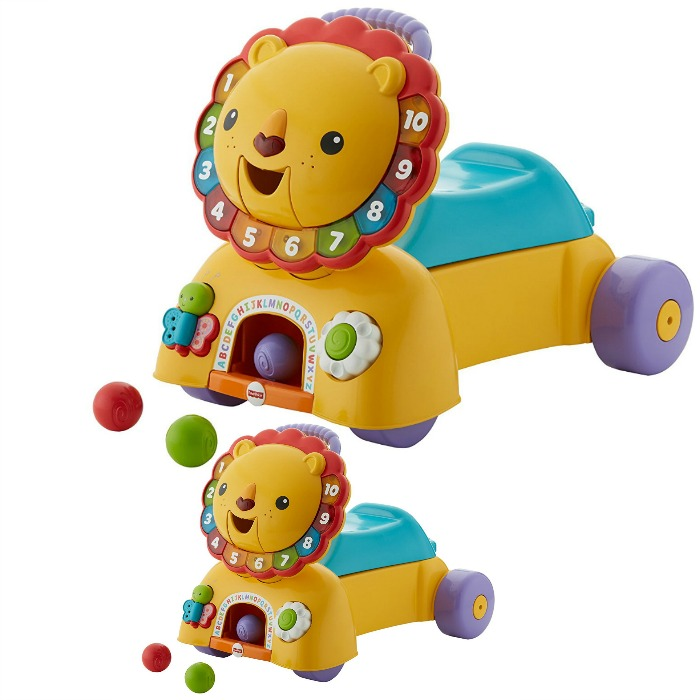 Fisher-Price 3-in-1 Sit, Stride & Ride Lion Just $25.74! Down From $45!