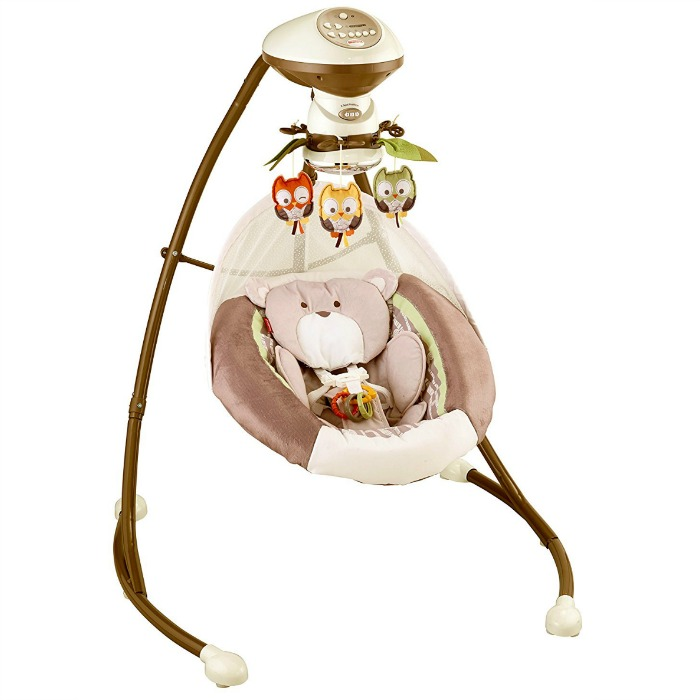 Fisher-Price My Little Snugabear Cradle 'N Swing Just $69.88 Shipped! Down From $105!
