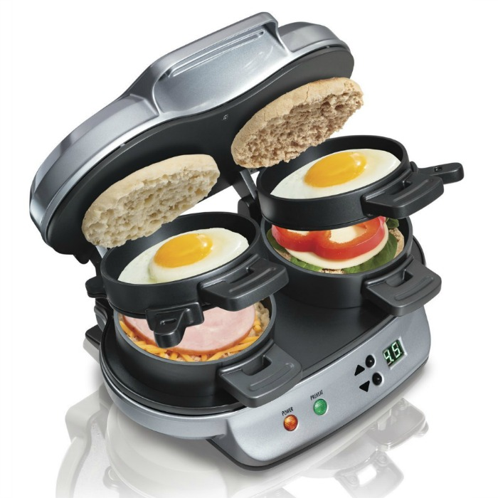 Hamilton Beach Dual Breakfast Sandwich Maker Just $24.99! Down From $40!