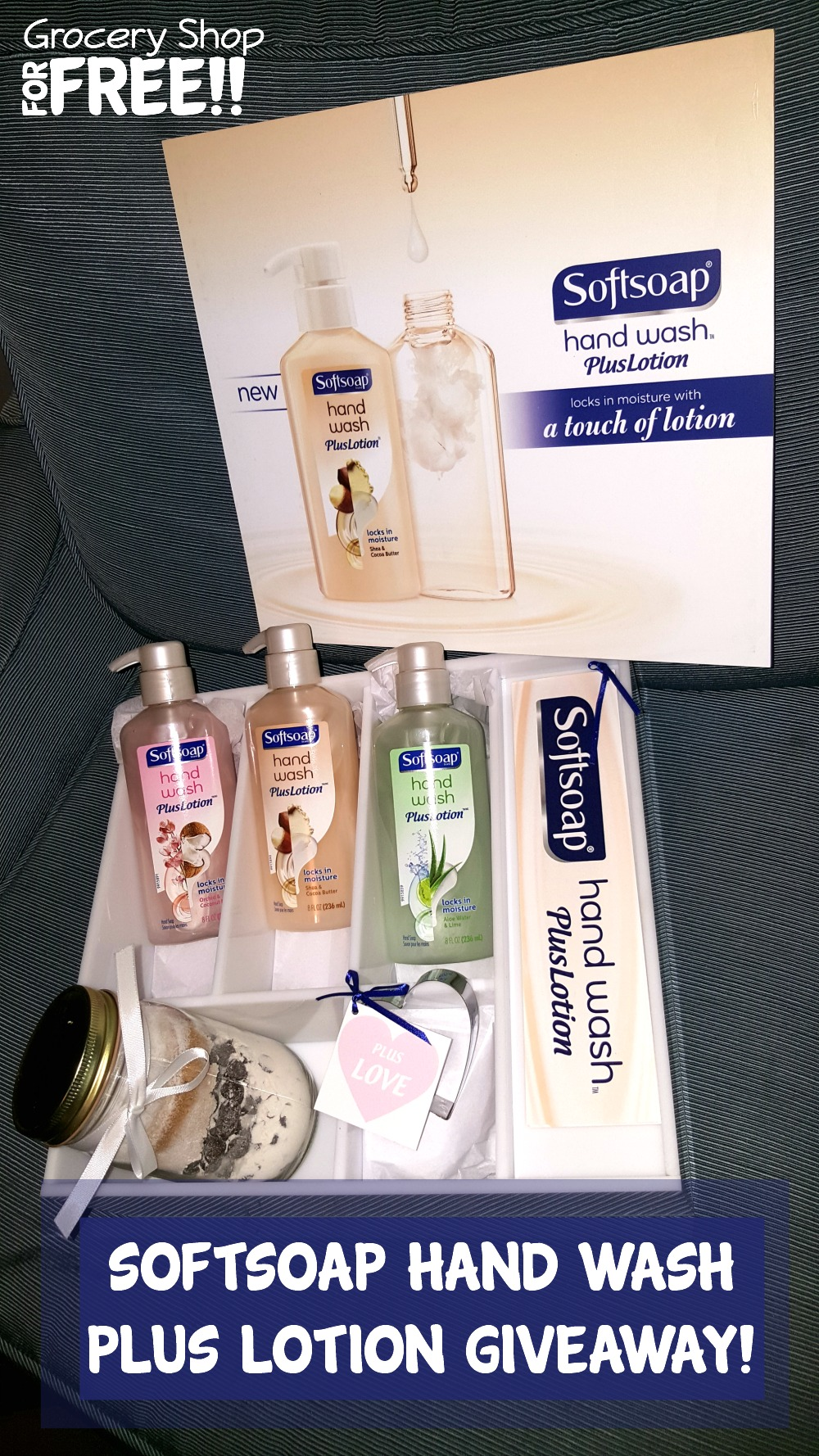 Softsoap Hand Wash Plus Lotion Giveaway!
