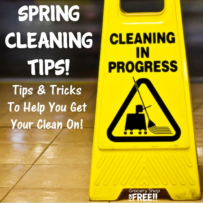 Spring home cleaning tips - Home secrets brief cleaning guide ...