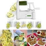 5-Blade Veggie Spiralizer Just $29.99! Down From $50!