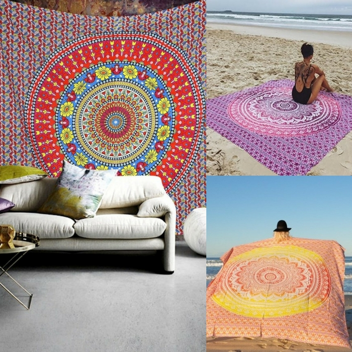 Large Patterned Beach Throw Just $12.99! Down From $70!