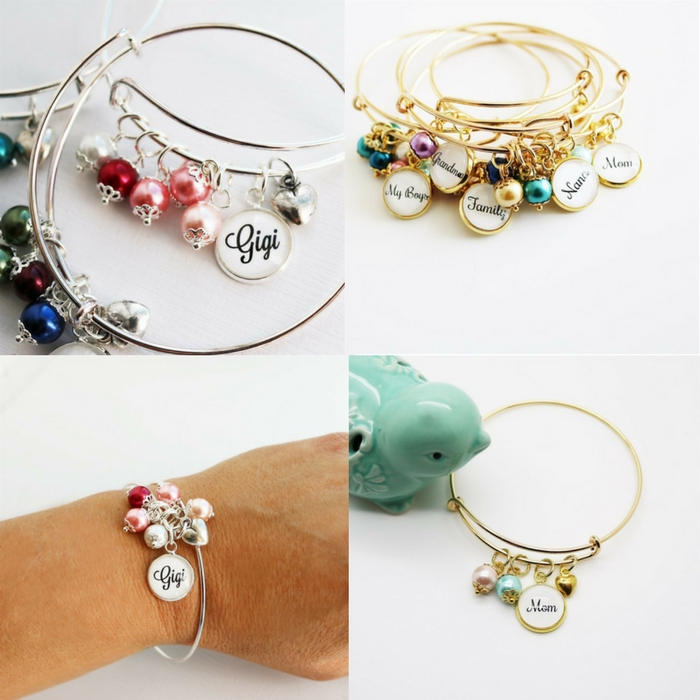 Family My Heart Bangle Bracelet Just $7.99! Down From $20!