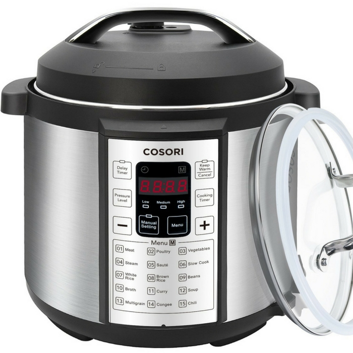 Cosori 7-in-1 Electric Pressure Cooker Just $72.99! Down From $140! PLUS FREE Shipping!