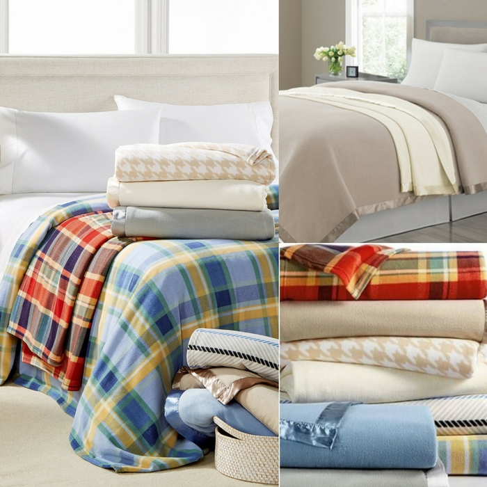 Martha Stewart Fleece Blankets Just 14.99! Down From $50!
