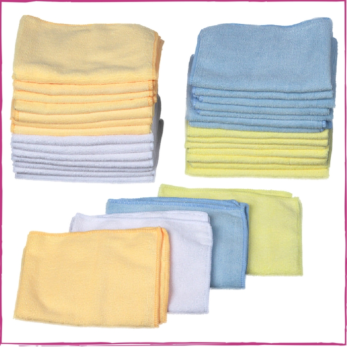 32-Pack Microfiber Cloths Just $14.99! Down From $30! PLUS FREE Shipping!