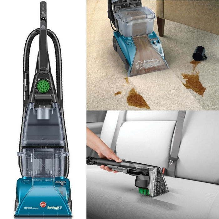 Hoover Carpet Cleaner SteamVac Just 8387 Down From 133