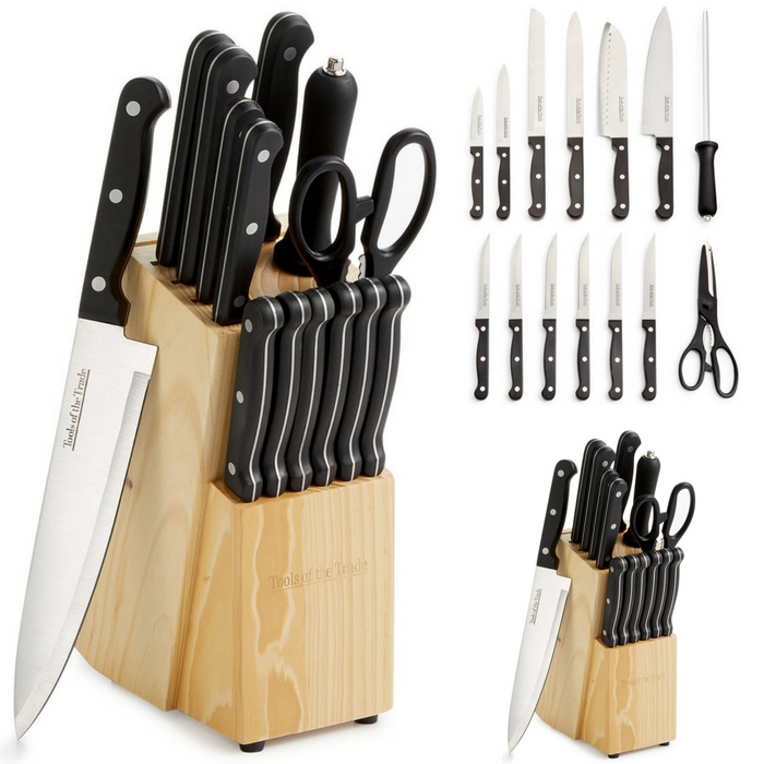 Tools Of The Trade 15-Piece Cutlery Set Just $19.99! Down From $50! Limited Time Only!