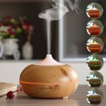 Aromatherapy Wooden Essential Oil Diffuser & Humidifier Just $25.99! Down From $90!