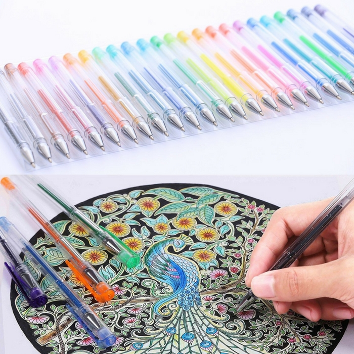 Gel Pen Set 120-Pack Just $19.89! Down From $70!