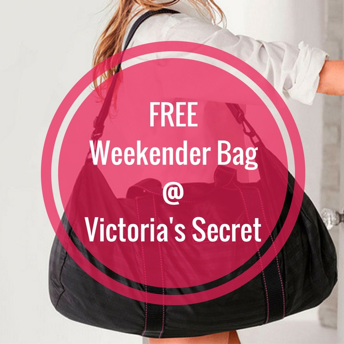 FREE Weekender Bag With $60 Purchase!