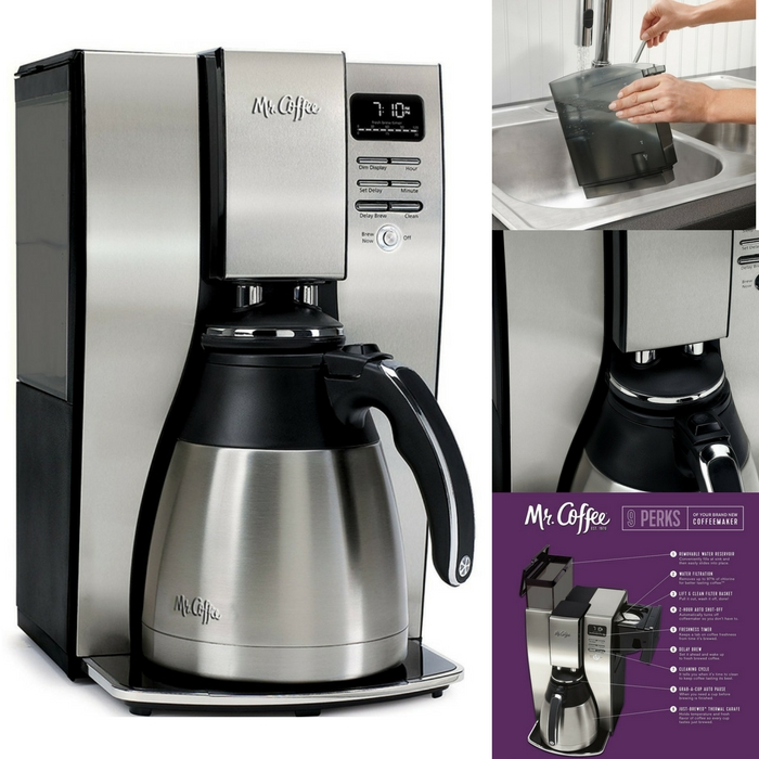 Mr. Coffee Thermal Coffee Maker Just $62.99! Down From $100! PLUS FREE Shipping!