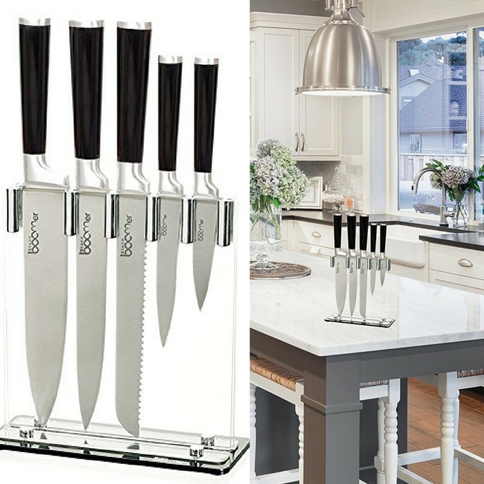 Stainless Steel Kitchen Knives Just $21.99! Down From $90!