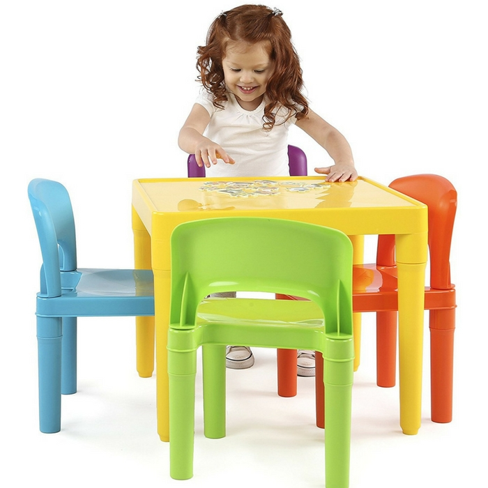 Kids Table And 4 Chairs Set Just $29.64! Down From $50!