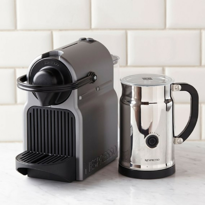 Nespresso Inissia Espresso Maker & Milk Frother Just $89! Down From $199! PLUS FREE Shipping!