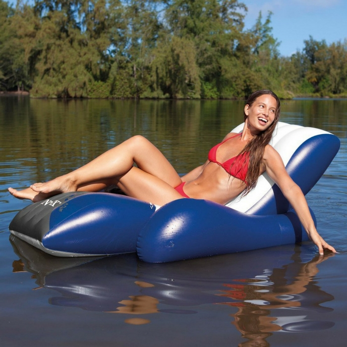 Intex Floating Recliner Inflatable Lounge Just $14.07! Down From $21!
