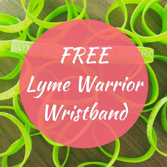 FREE Lyme Warrior Wristband!